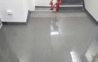Colored resin floors Melbourne